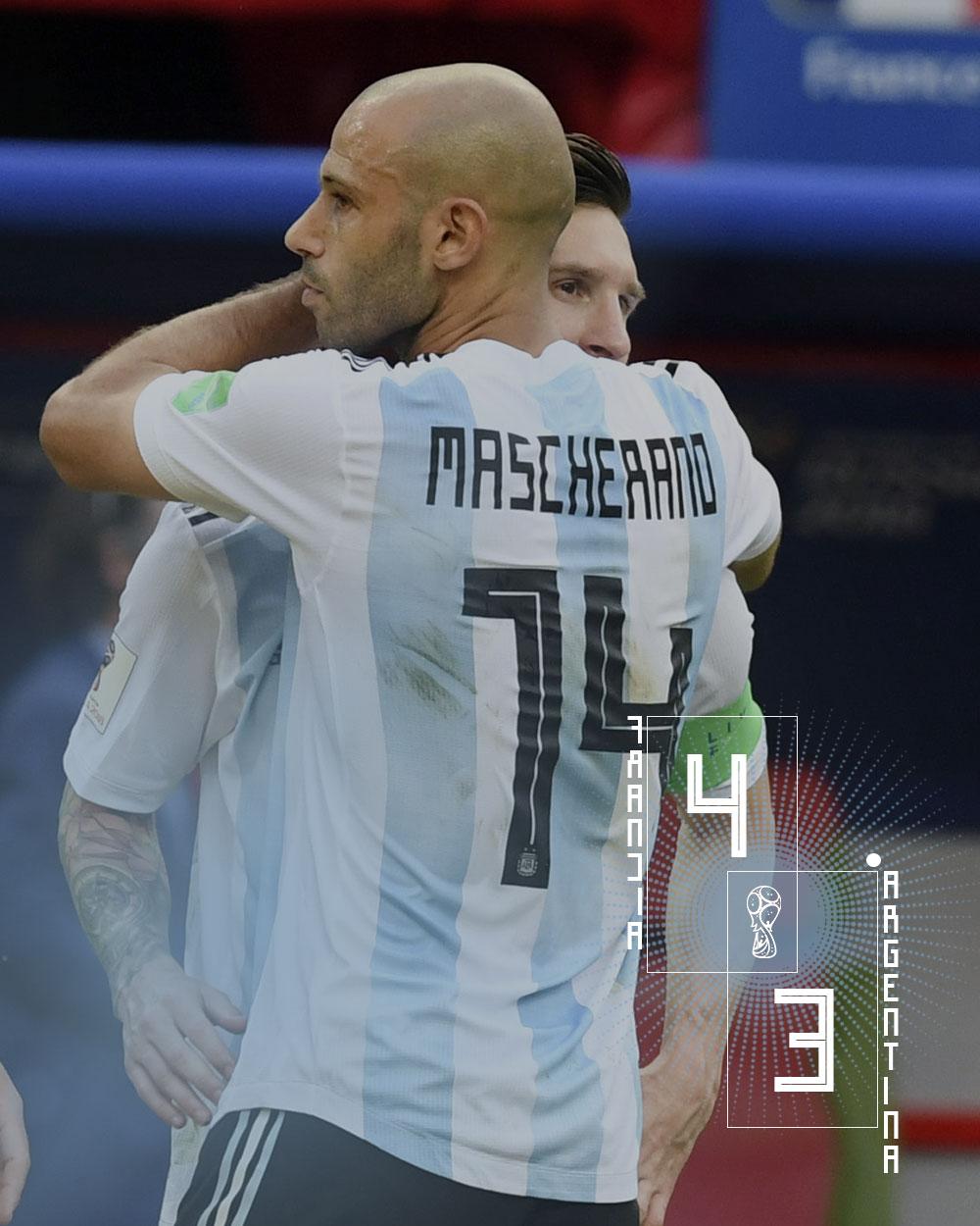Francia 2 Argentina 4 Rusia 2018 Off Topic Periodismo Transmedia